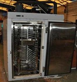 B072 Shineho 200kg 52 Trays Capacity Blast Freezer for sale