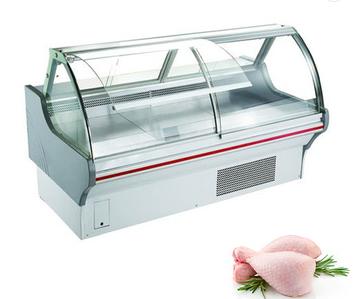 freezer Showcase Cabinet china factory Price