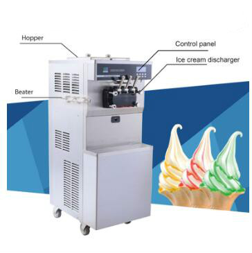 small frozen yogurt making machine for sale