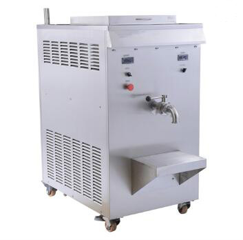 stainless steel ice cream maker machine
