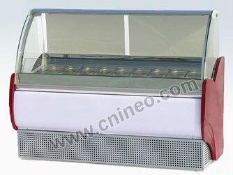 Ice cream Cake Display Freezer