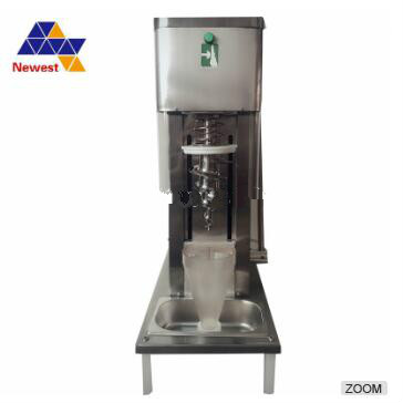 Best quality real fruit ice cream blending machine