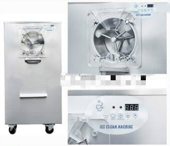 Cheap hard ice cream machine batch freezer