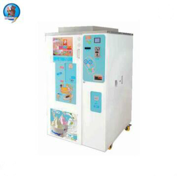 Automatic soft ice cream machine for sale