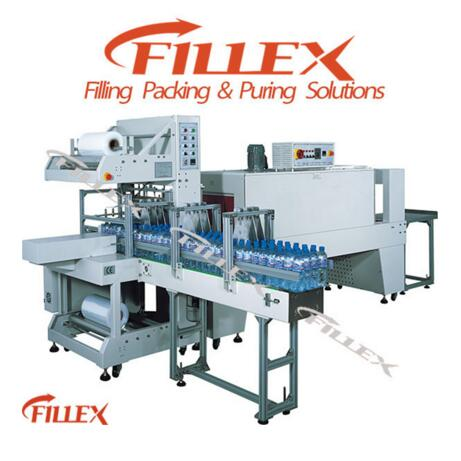 PET bottle shrink wrapping machine supplier