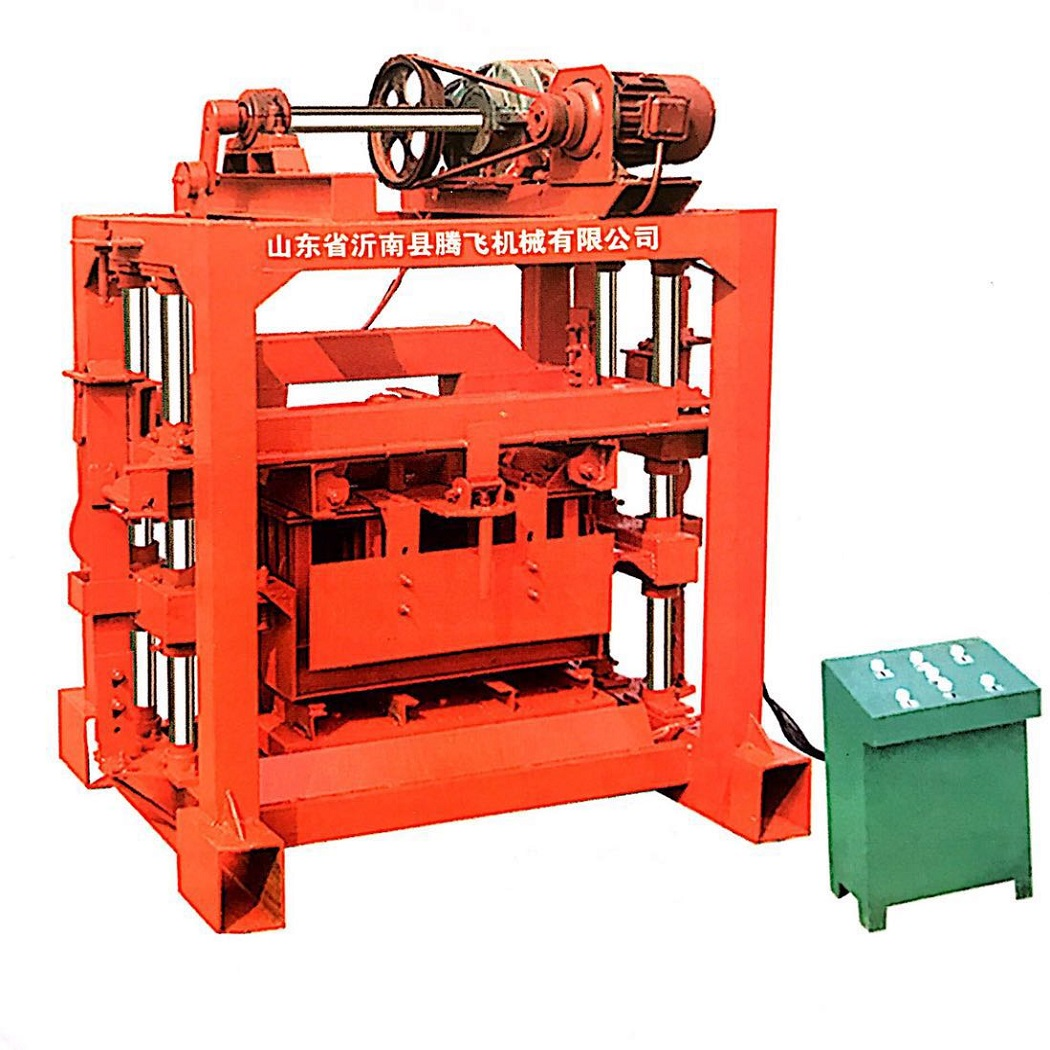 QTJ4-40 tiger concrete block machine at6 price hollow block making machine price