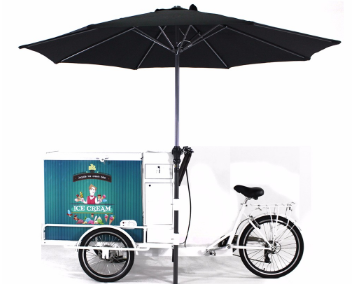 Purchase ice cream trike with battery freezer