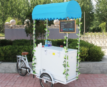 JX-T06 popcorn ice cream pizza vending coffee cart