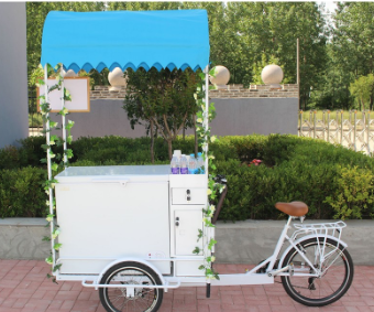 JX-T06 popcorn ice cream pizza vending coffee cart