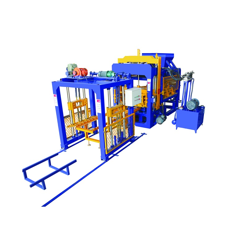 QT 6-15 automatic cement pavers brick making machine manufacturing plant price suppliers