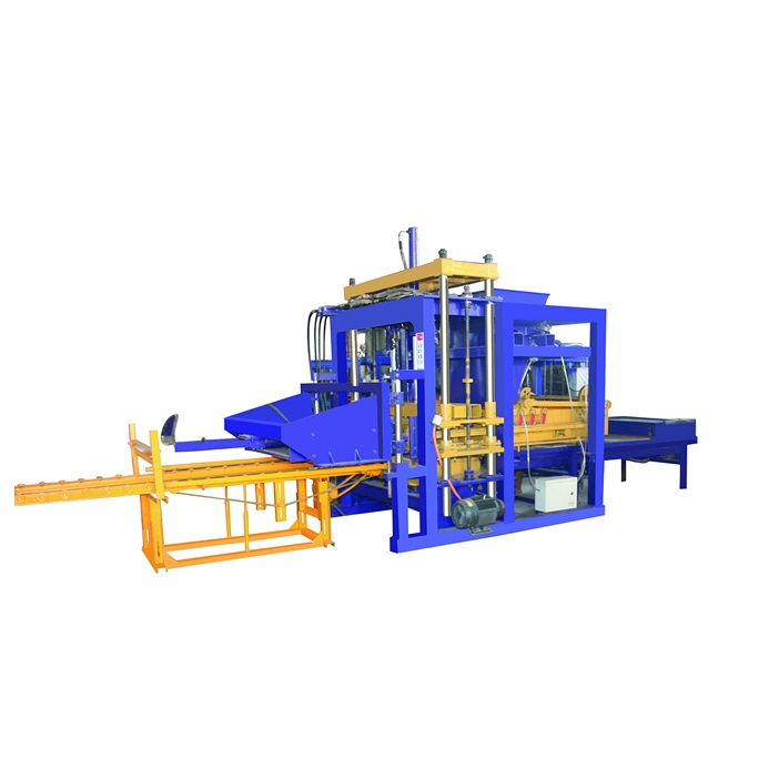 QT5-15 concrete hollow block manufacturing machine suppliers cost low price