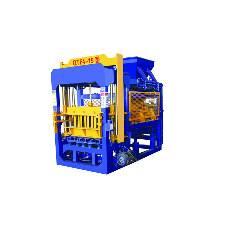 QT4-15 simple brick and block making machines factory