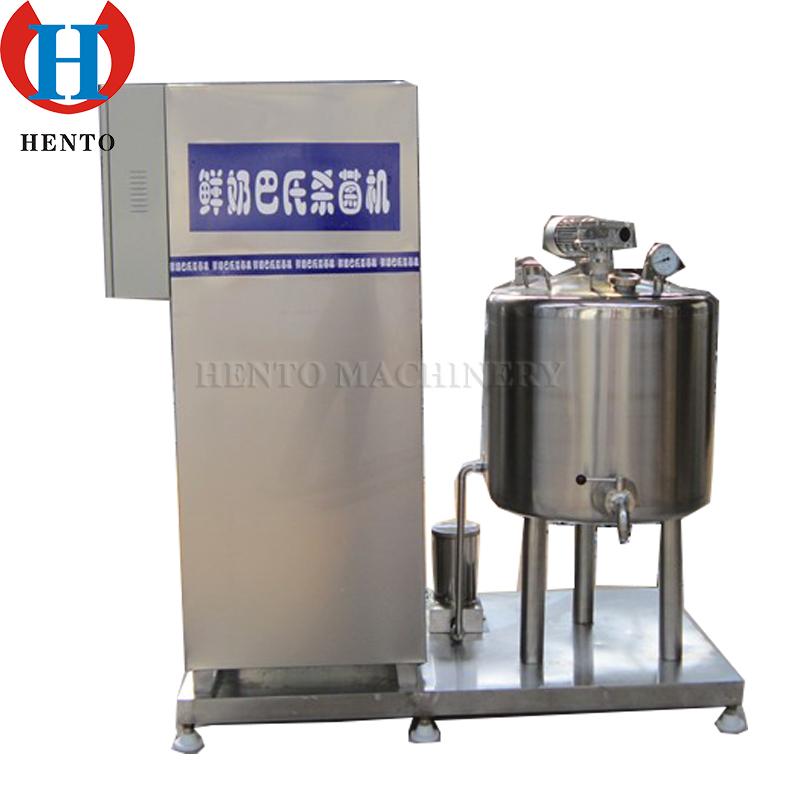 Small Milk Pasteurization Machine Supplier