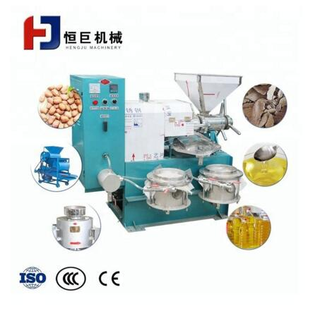High Quality Palm Black Seed Sesame Oil Press Machine for Sale
