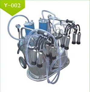 Electric double bucket Portable Milking Machine