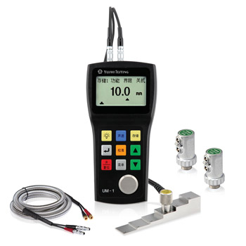 Digital Ultrasonic Metal Thickness Gauge with thru coating function