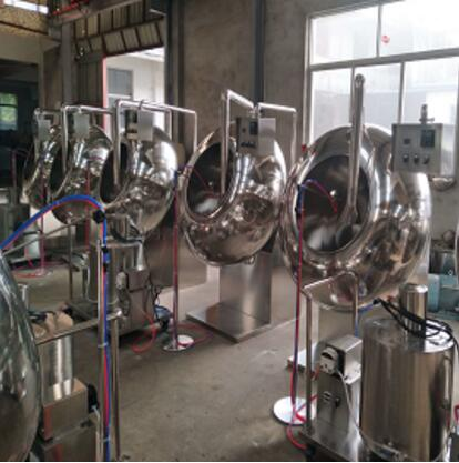 Pharmaceutical copper coating pan machine for sale