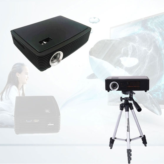 Mini Pico DLP Pocket Portable LED Smart 3D 4K Projector