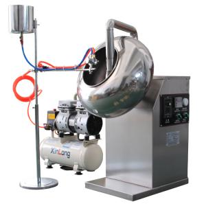 professional automatic tablet sugar coating machine for pills candy and nuts