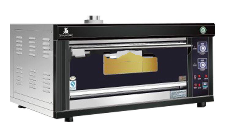 Automatic Alarm Gas Bread Baking Commercial Oven