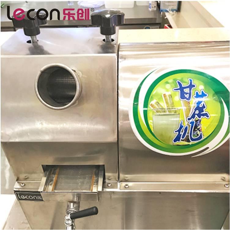 Automatic sugarcane juice extracting machine for fresh sugar cane juice