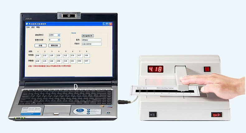 DM3011 industrial digital x rite densitometer handheld