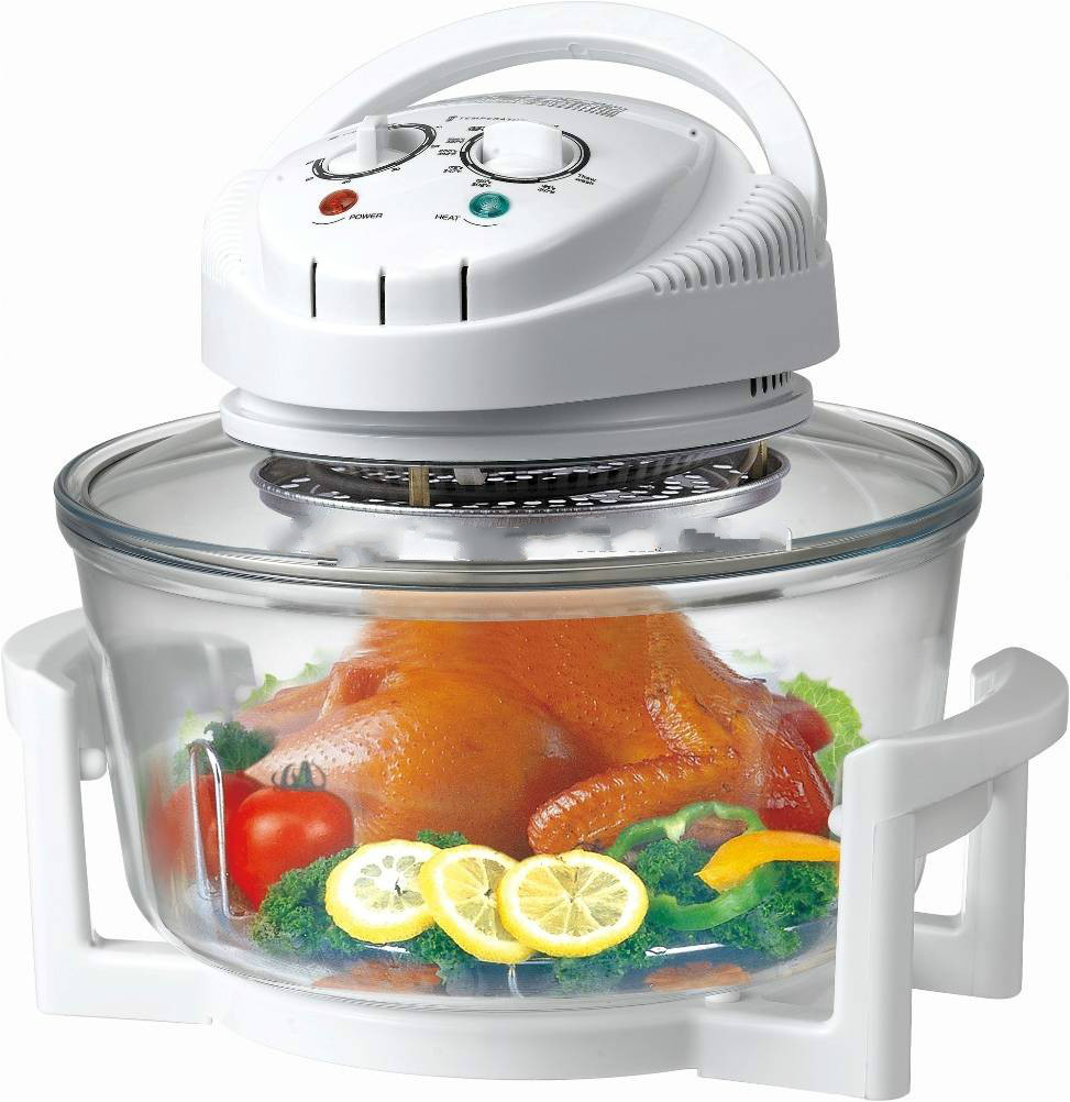 12L Hot Air Convection Oven With Halogen lamp or heating element