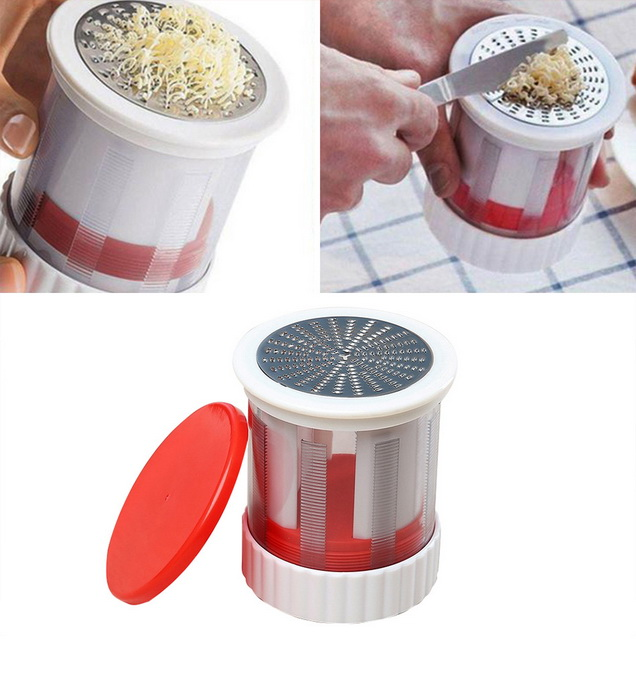 Manual Stainless Steel Cheese Grater Chocolate Butter Mill