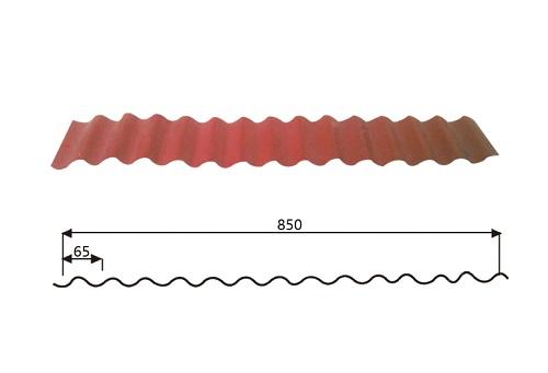 Steel Wave Tiles 14-65-850