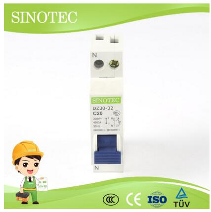 Miniature circuit breaker ,MCB,DPN for sale