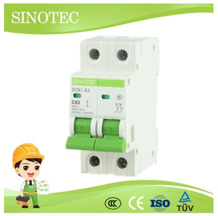 High Quality Circuit Breaker, Miniature Circuit Breaker, MCB with CE ISO CCC
