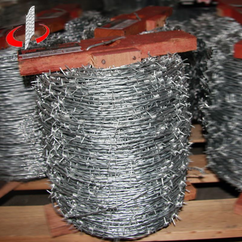 Barbed Wire Price Per Meter For Railway Supplier