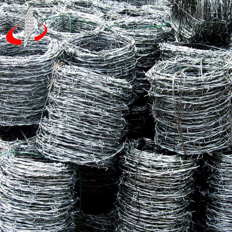 Electric Galvanized Barbed Wire Per Kg for Sale