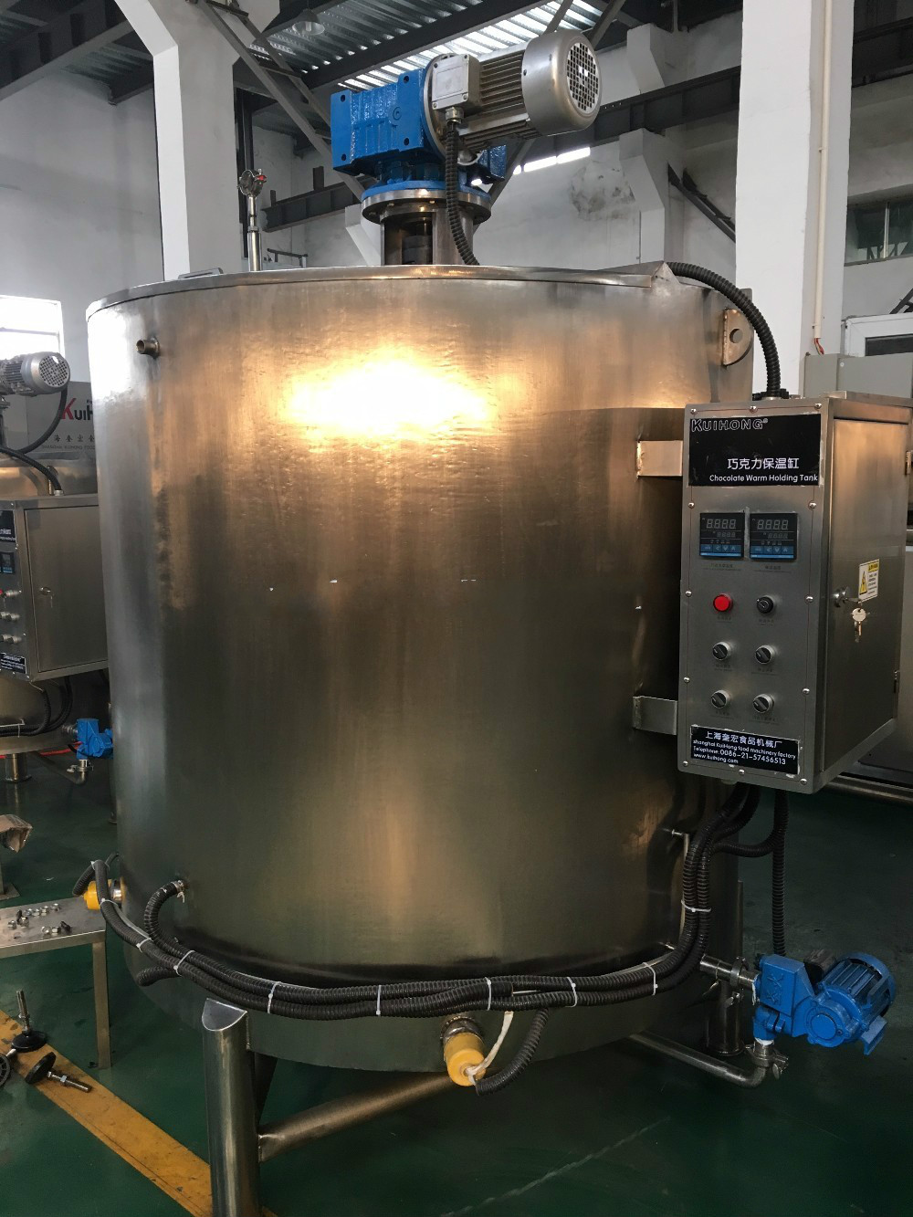 Commercial Chocolate Tempering Machine Melting Tank