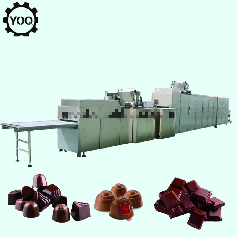 Automatic Chocolate Moulding Line Chocolate Candy Production Line 0.5-2.5T/class
