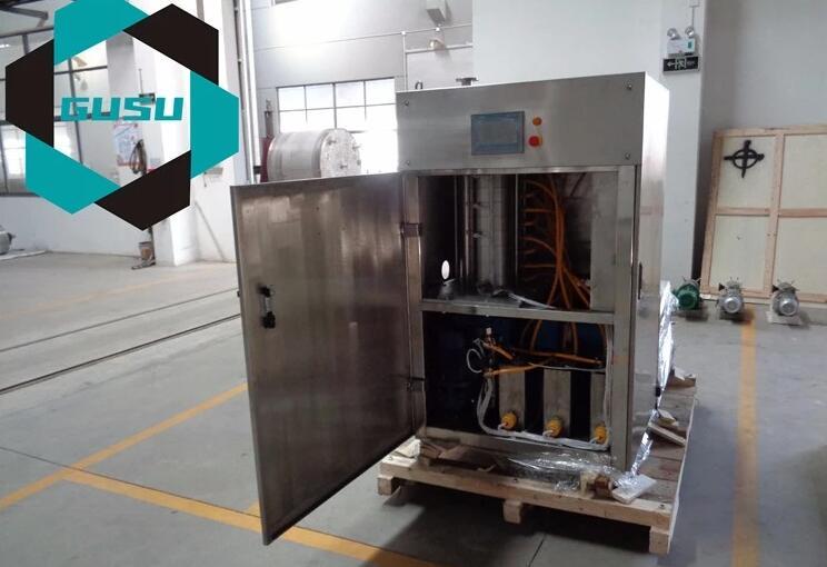 250 kg / h Chocolate Tempering Machine Supplier