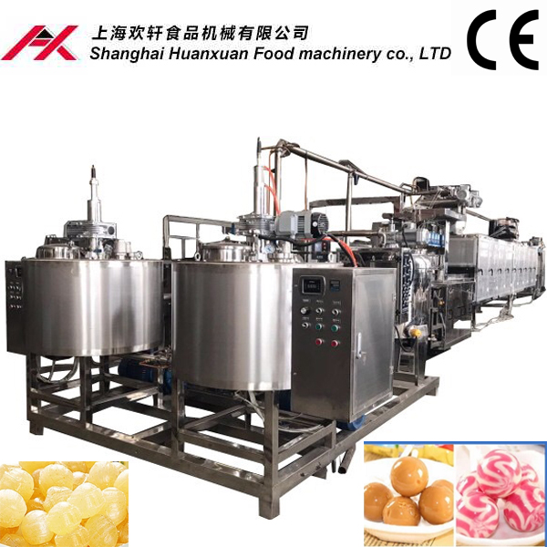 Jelly candy production line jelly making machine
