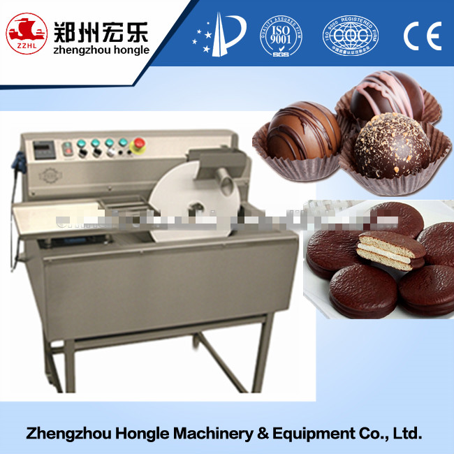 High Quality Small Chocolate Enrobing Machine Bakery Used Chocolate Enrober