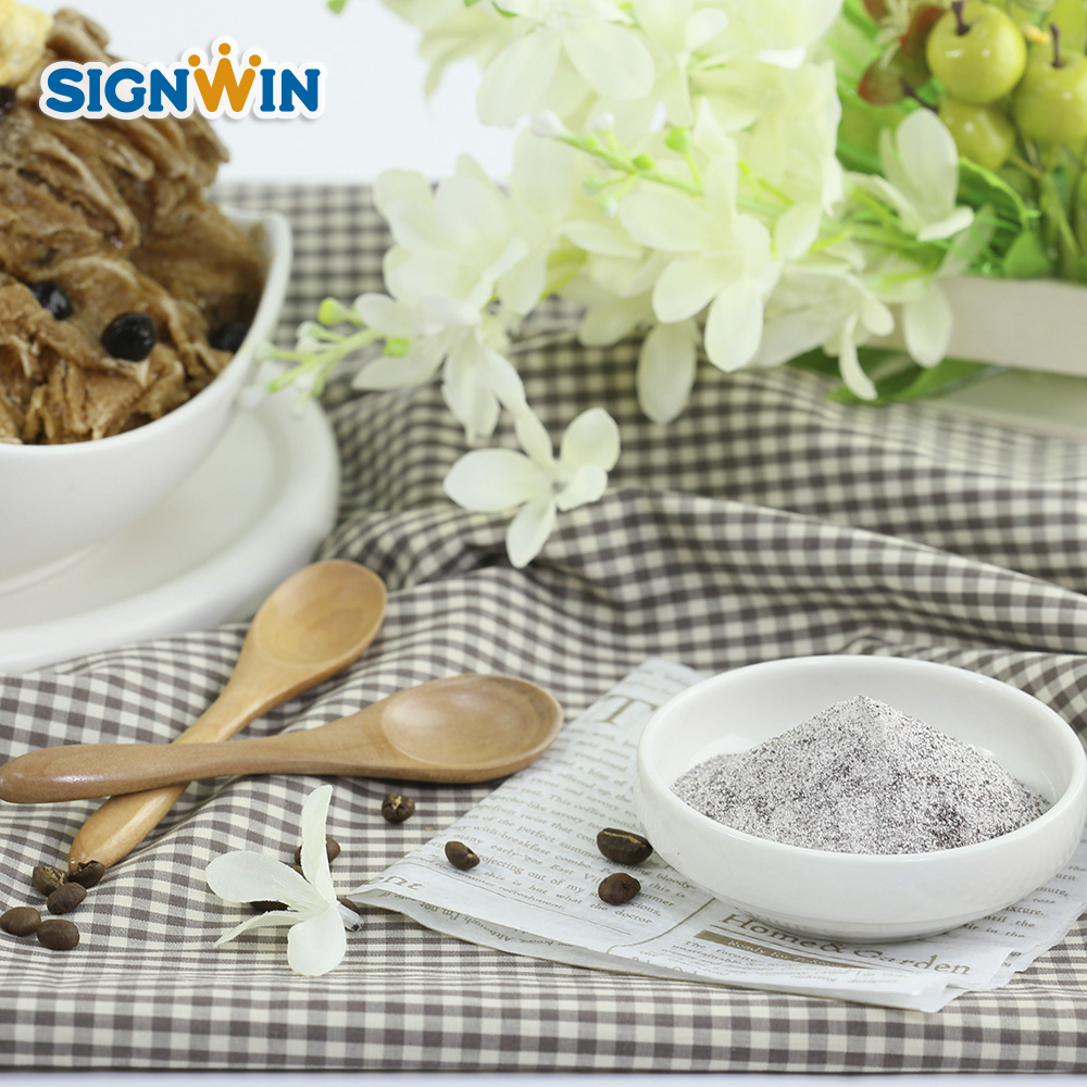 Promotional Simple Coffee Snow flake powder manufacturer