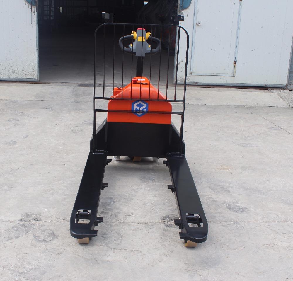 DC motor forklift 1500 Kg capacity electric pallet truck