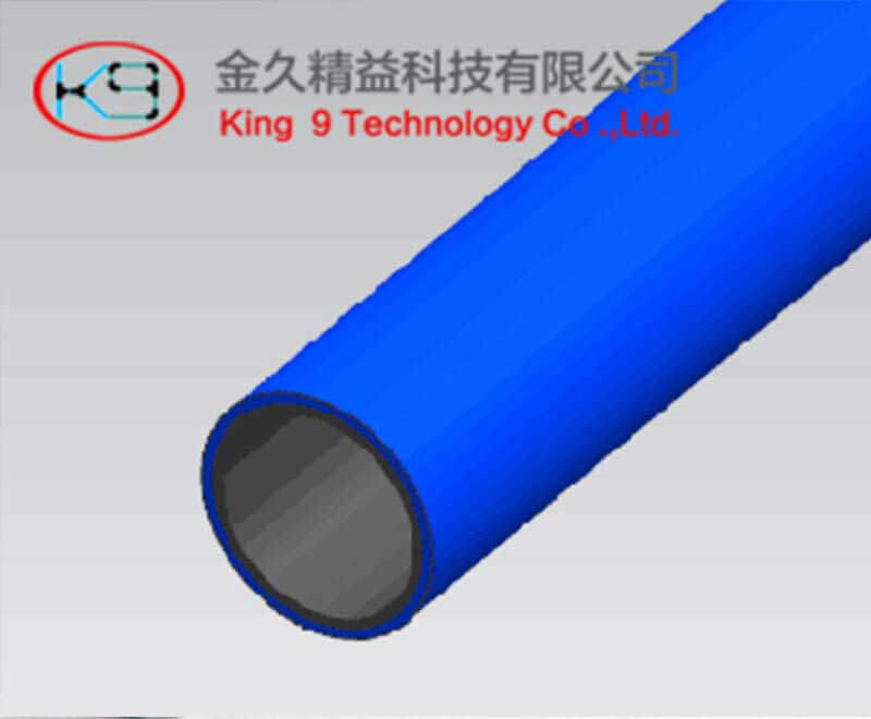 Blue Color 1.0mm Lean Pipe