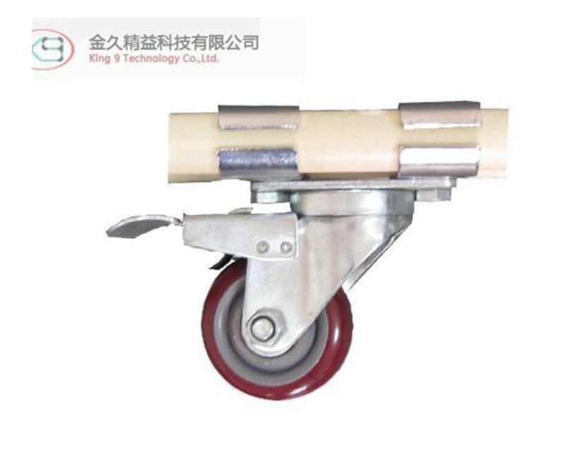 Fixed Direction Horizontal Plug Stem Break Caster