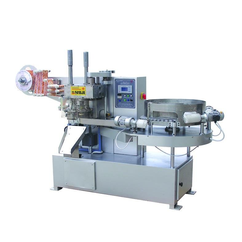 Lollipop Packing Machinery for wood case packaging