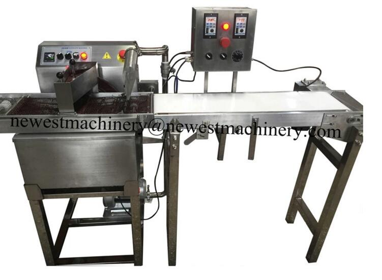 Small chocolate coating machine with cooling tunnel manufacturer