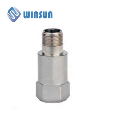 Piezoelectric vibration velocity sensor