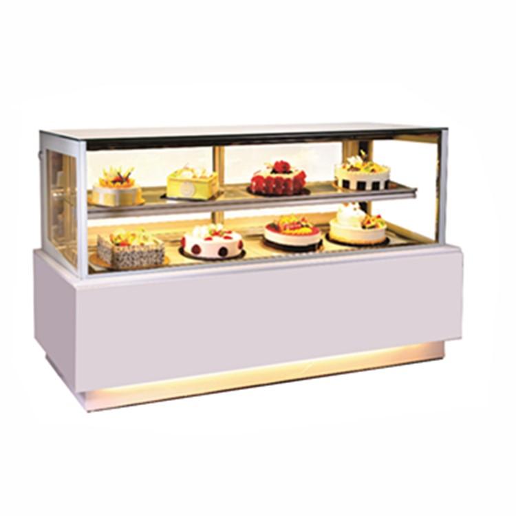 Super bright Glass Cake Display Fridge