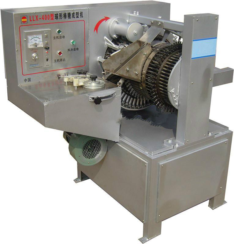 Automatic lollipop press machine small hard candy lollipop packaging sealing machine