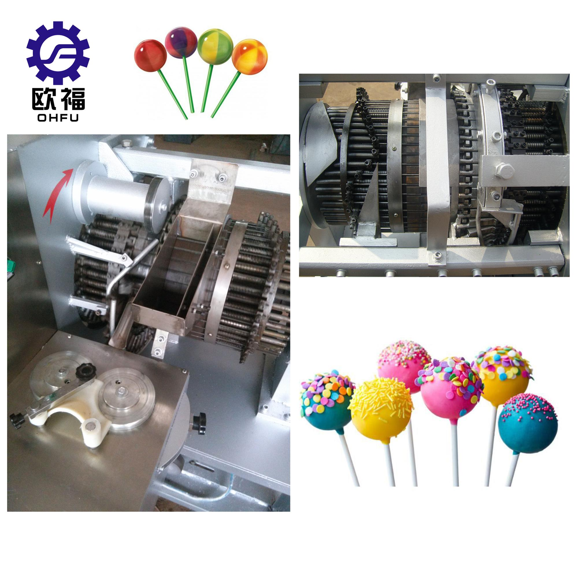ball lollipop forming machine/lollipop candy machine hot sale