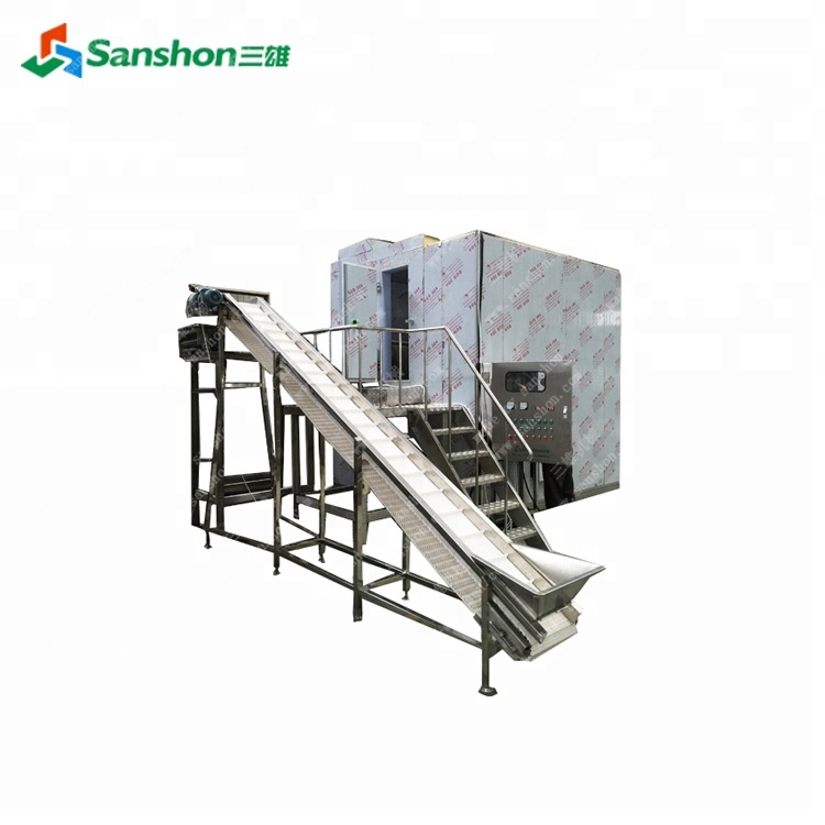 Potato Chip IQF Quick Freezer Potato Chip Freeze Equipment Supplier