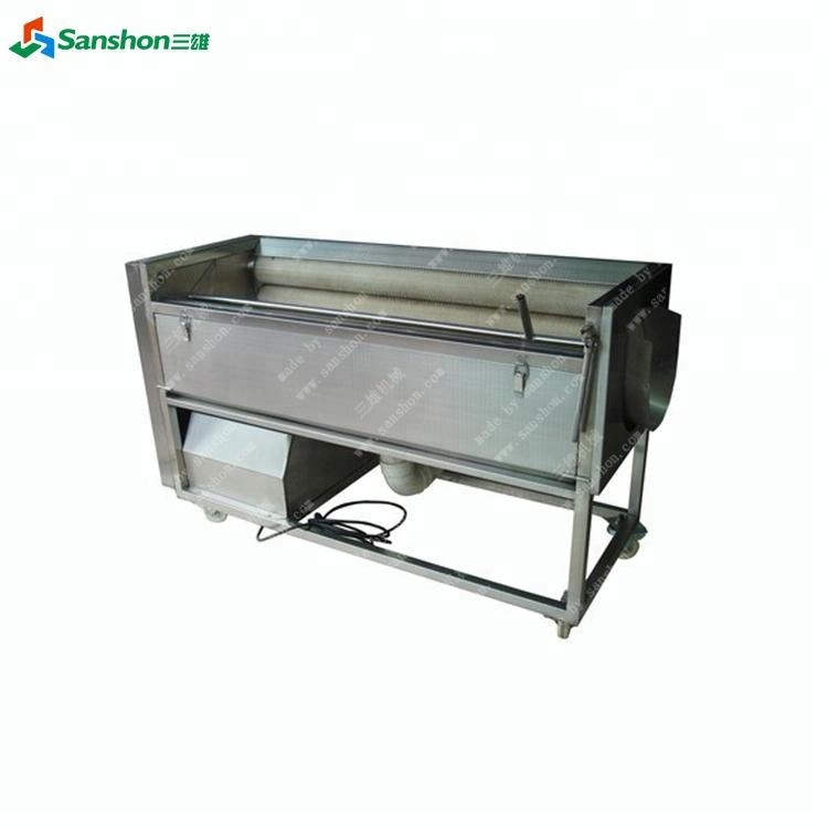Brush Washing Machine Potato Peeler Garlic Peeler Supplier